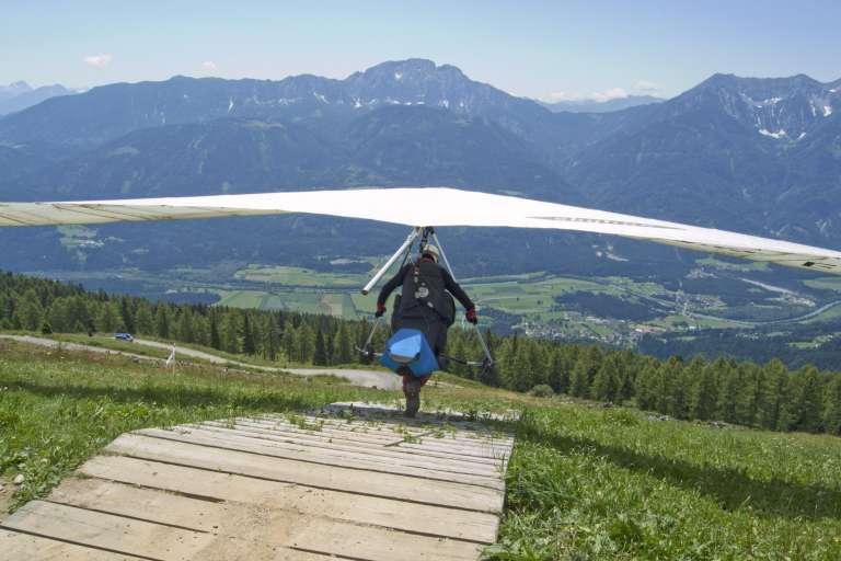 Fliegen in Greifenburg - © www.urlaub-greifenburg.at