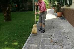 Arbeiten ist am Thalerhof gratis. Dieses Angebot nehmen meine Gäste gerne an. - © www.urlaub-greifenburg.at