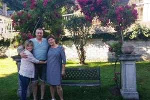 Wiedersehen nach 10 Jahren mit Hendrie und Miranda. - © www.urlaub-greifenburg.at
