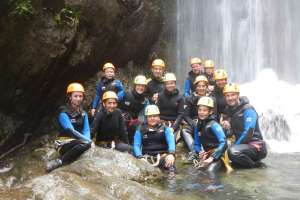 Canyoning Tour am Wasserweg. Es war suuuper! - © www.urlaub-greifenburg.at