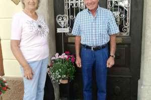 Ein ganz nettes Ehepaar: Herta und Willi. - © www.urlaub-greifenburg.at