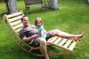 Andi ist sehr stolz auf seinen kleinen Sonnenschein. - © www.urlaub-greifenburg.at