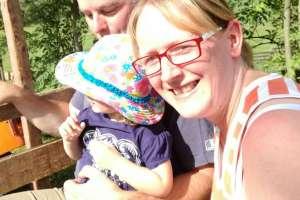 Mama hat genauso viel Spaß wie Anna. - © www.urlaub-greifenburg.at