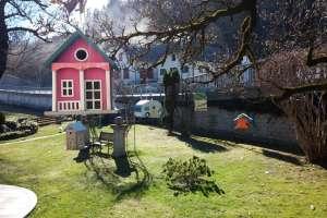 Ich freue mich! Ich habe wieder ein Häuschen geschenkt bekommen! - © www.urlaub-greifenburg.at