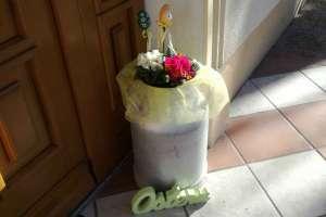 Eine alte Milchkanne ist für vieles gut. - © www.urlaub-greifenburg.at