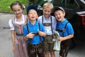 Ein nettes Quartett. - © www.urlaub-greifenburg.at