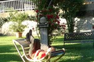 Matthias ist am Morgen schon wieder müde! - © www.urlaub-greifenburg.at