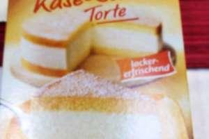 Käse Sahne Torte von Dr. Oetker.Soooo lecker. - © www.urlaub-greifenburg.at