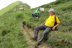 Nur noch ein paar Schritte dann sind wir auf dem Gipfel angelangt. - © www.urlaub-greifenburg.at