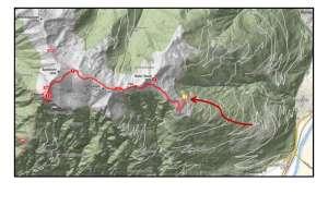 Unsere Route zum Stagor. - © www.urlaub-greifenburg.at