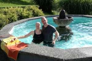 Da Pit keine Badehose mitgenommen hat, ... ! - © www.urlaub-greifenburg.at