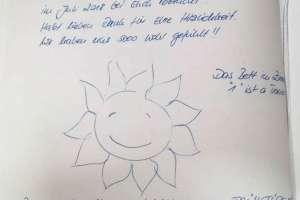 Ganz liebe Einträge ins Gästebuch! - © www.urlaub-greifenburg.at