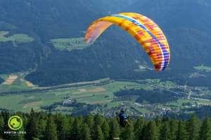 So sehen die BGD-Gleitschirme aus! - © www.urlaub-greifenburg.at