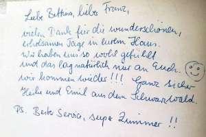 Vielen Dank an Heike und Emil! - © www.urlaub-greifenburg.at