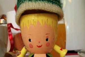 Monika aus München hat mir diesen niedlichen Eierbecher mitgebracht. - © www.urlaub-greifenburg.at
