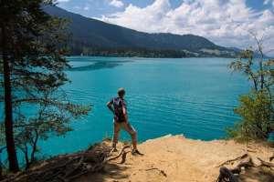 Der alte Mann und der See. - © www.urlaub-greifenburg.at