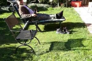 Chillen im Garten und auf die Grillparty warten! - © www.urlaub-greifenburg.at