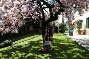 Endlich wieder Rasen mähen! - © www.urlaub-greifenburg.at