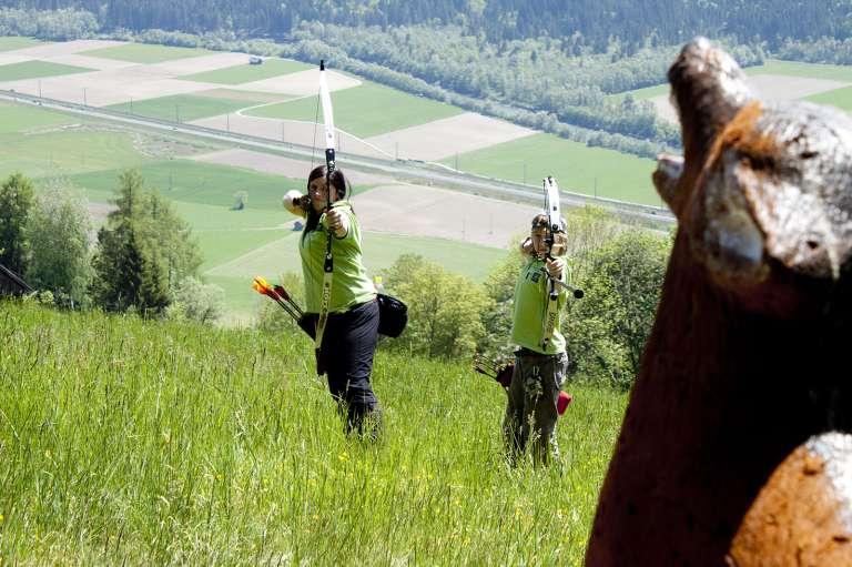 Bogenschießen in Steinfeld/Drau - © www.urlaub-greifenburg.at