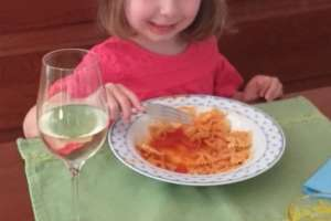 Nudel essen bei Bettina - © www.urlaub-greifenburg.at