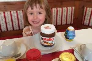 Nutella schmeckt aber besser und darf auf dem Frühstückstisch nicht fehlen. - © www.urlaub-greifenburg.at