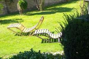 Die Schaukelliegen von meinem Sohn Valentino selbst gemacht. - © www.urlaub-greifenburg.at