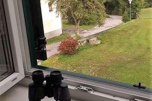 Man kann das gute Wetter trotz Fernglas nicht sehen! - © www.urlaub-greifenburg.at