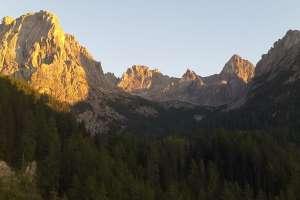 Ausblick von der Dolomitenhütte in Lienz! - © www.urlaub-greifenburg.at