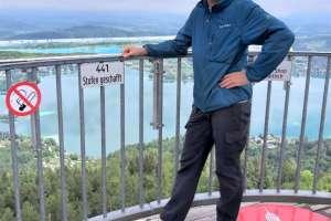 Geschafft - tolle Aussicht! - © www.urlaub-greifenburg.at
