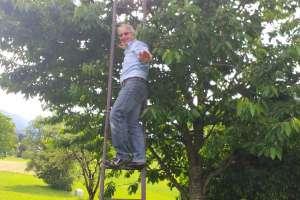 Jörg hat etwas Höhenangst - © www.urlaub-greifenburg.at